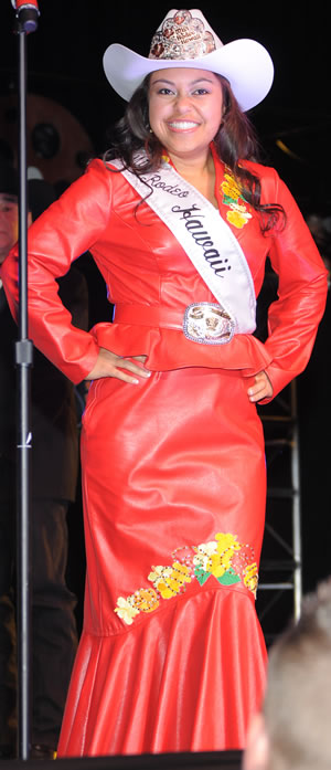 Cheyenne Gaspar, Miss Rodeo Hawaii 2011