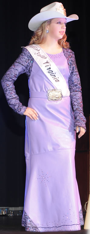 Dakota Monroe, Miss Rodeo Virginia 2011