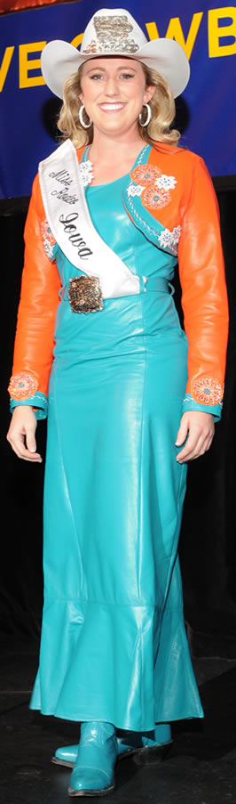Heidi Gransen, Miss Rodeo Iowa 2011