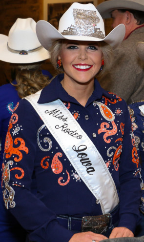 Miss Rodeo Iowa 2016, Shelby Chapman