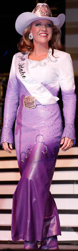 Tricia Crump, Miss Rodeo Idaho 2011